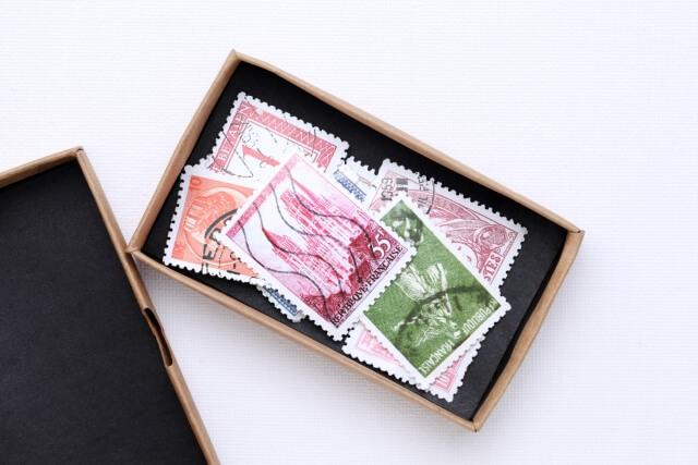 買取品の切手の画像